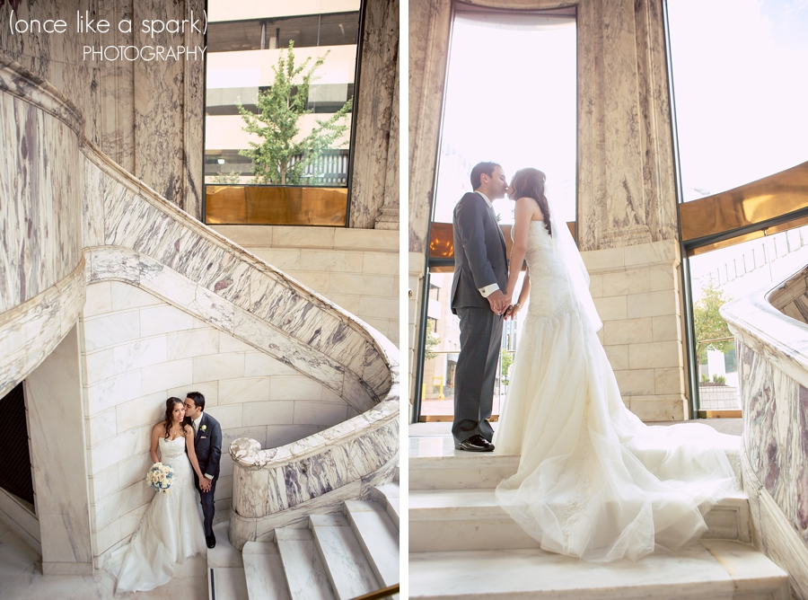 Highlights Emery Philips Modern Atlanta Wedding With Tyler At The Venetian Room Once Like A Spark Photography