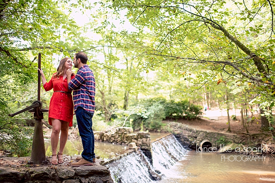Highlights brittni justin s engagement at the porter for Lull water