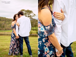 Dahlonega, GA engagement shoot at White Oaks Barn. One of our favorite wedding and engagement venues in the Southeast!