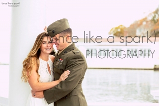 Tucks Point Engagement Session with New England Wedding Photographer (once like a spark) photography.