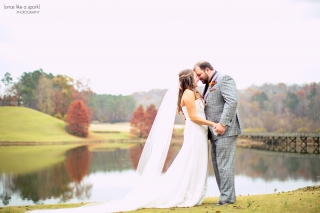 Hawks Ridge Wedding in Ball Ground, GA.