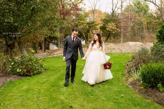 Gorgeous backyard wedding in Hingham, MA.