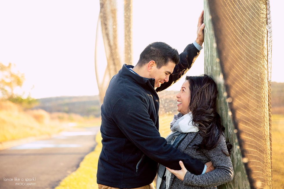 Creative locations for engagement shoots in Massachusetts
