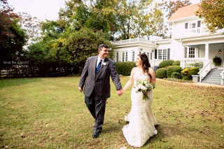 Payne-Corley House Wedding Photographer.