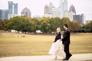 Piedmont Room Park Tavern Wedding - Atlanta Skyline View wedding venues.