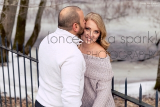 Concord, MA Wedding Photographer - Engagement Session at Minute Man Park
