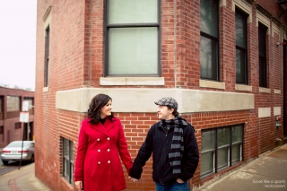Boston, North End Engagement Photographer