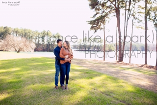 Lake Lanier Engagement Shoot with Georgia Wedding Photographer Once Like a Spark