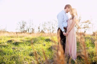 Gorgeous Athens, GA engagement shoot at Sandy Creek Park.