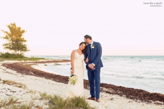 Destination wedding in Playa del Carment at the Grand Coral Beach Club.