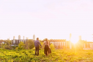 Atlanta Engagement Session at Ponce City Market